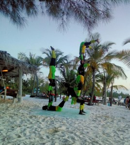 A Digital Nomad's Guide to Zanzibar - Sunset show at Mitchamvi
