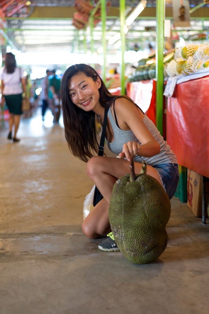 thailand, bangkok, jackfruit, comparison