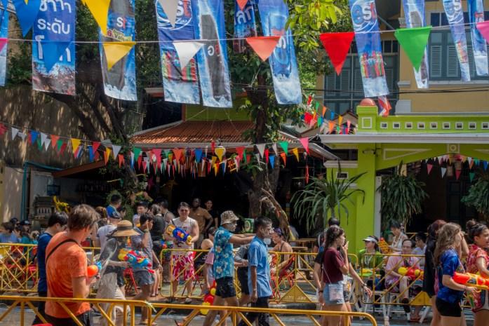 bangkok, thailand, songkran, khaosan road