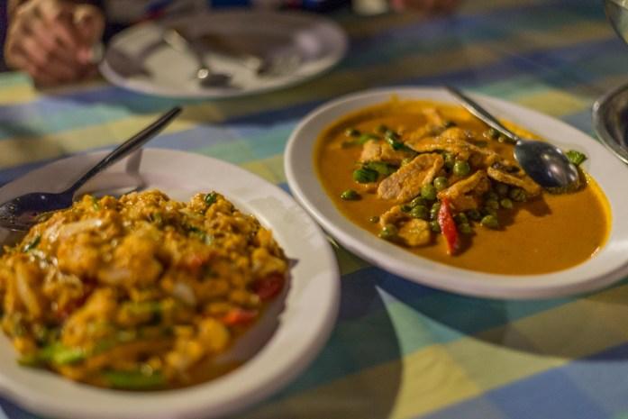 bangkok, thailand, thai food, curry, rice
