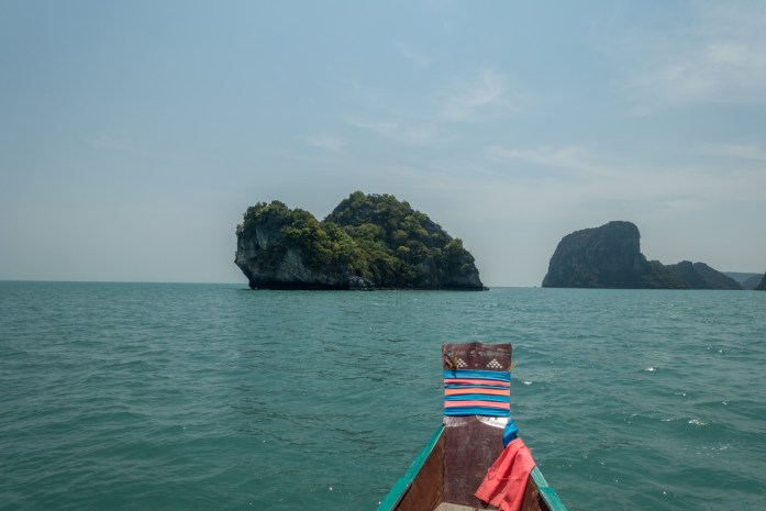 thailand, don sak, surat thani, boat ride, sea, turtle island