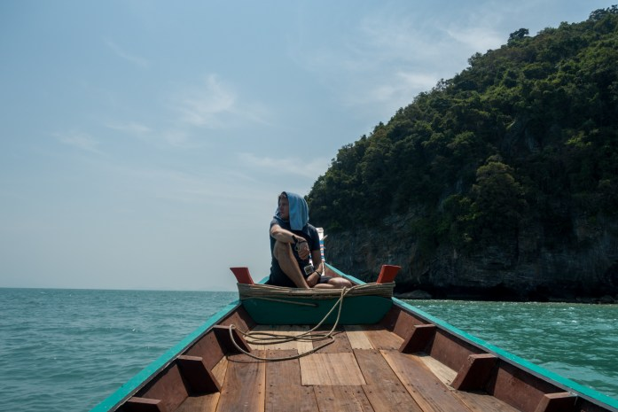 thailand, don sak, surat thani, boat ride, sea, island