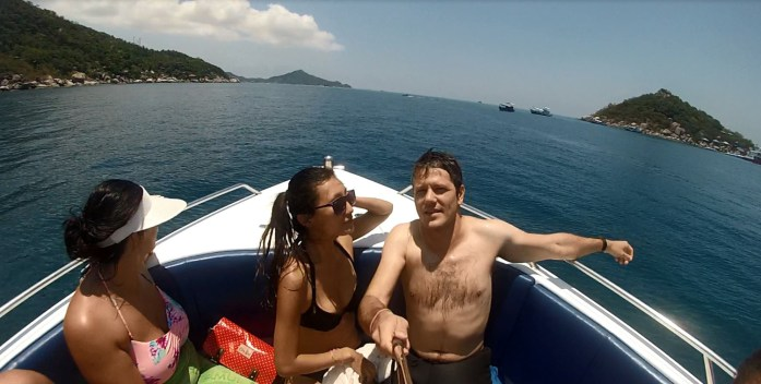 thailand, koh samui, snorkeling, boat