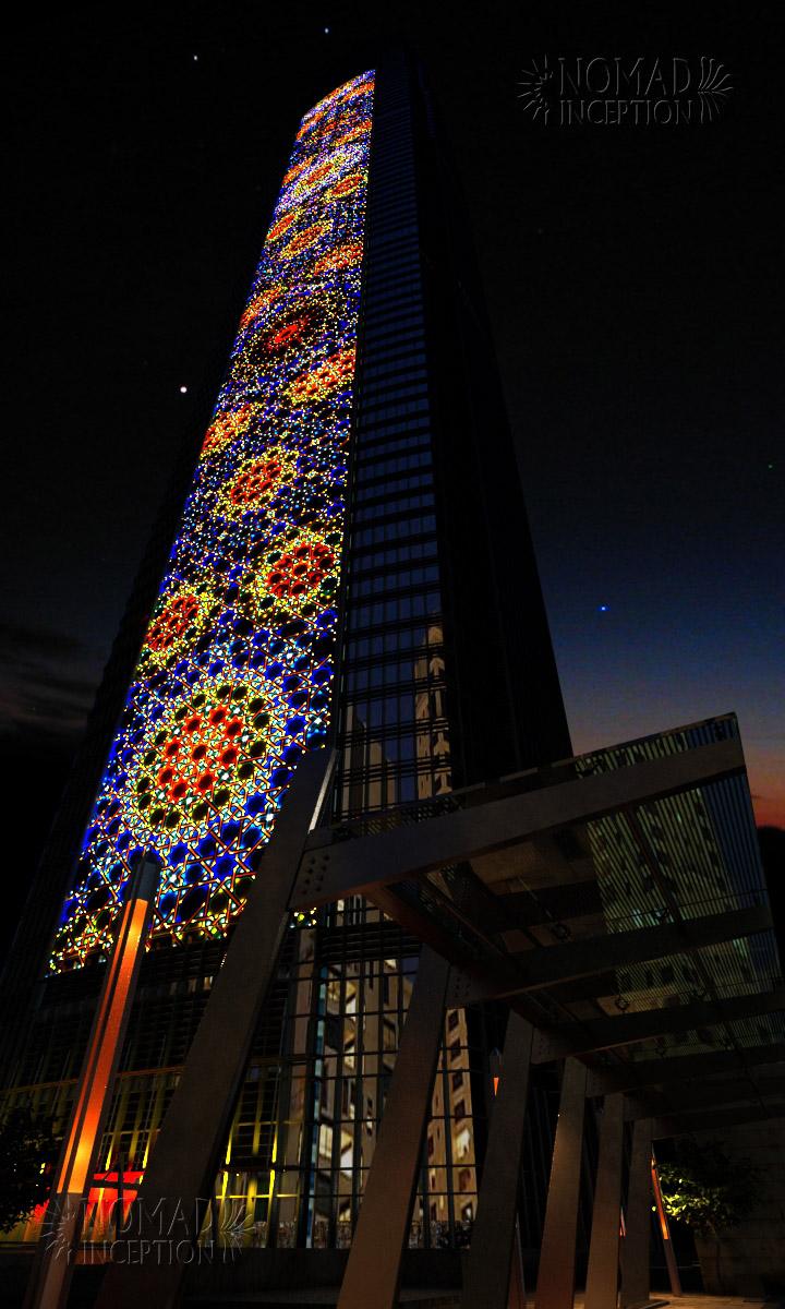 Islamic Patterns On Modern Arab Architecture