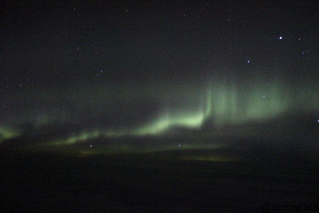 Auroras boreales en Alaska