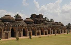 Monuments of Hampi, Karnataka, India