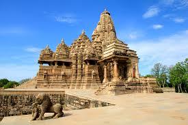 Khajuraho Temple Monuments, Madhya Pradesh, India