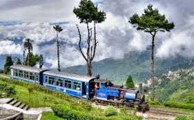 Toy Train, Darjeeling, India