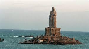 Tourist places to visit in kanyakumari - Thiruvalluvar Statue