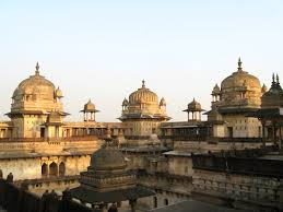 Tourist places to visit in Orchha - Best Village to visit in India- Jahangir Mahal