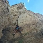 rock climbing, kids, family travel, camping, colorado, shelf road