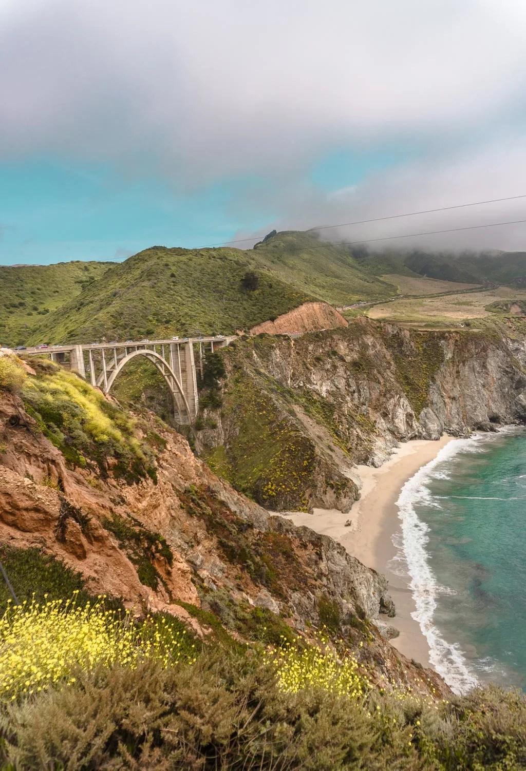 Bixby Bridge in Big Sur on the California Coast