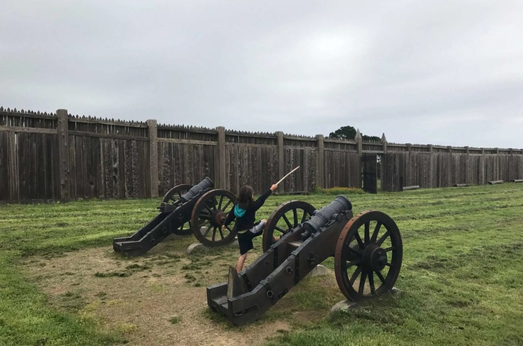 2 week California coast road trip itinerary: Fort Ross