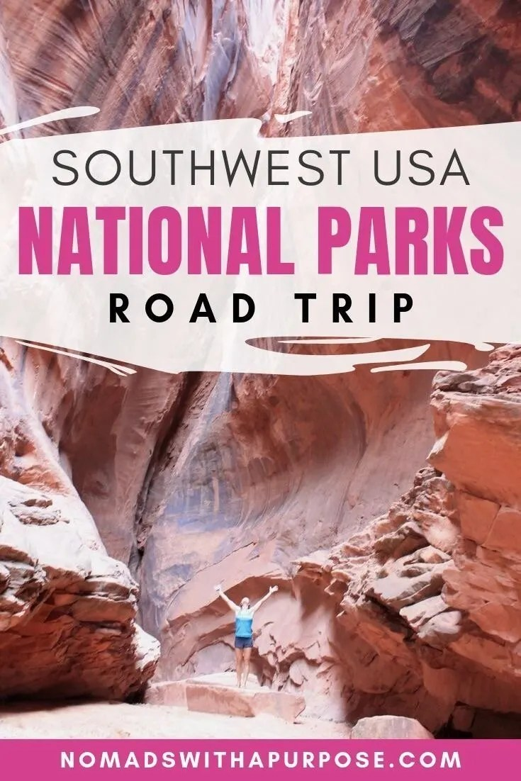 southwest national parks road trip