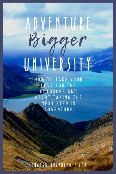 Adventure Bigger University- Why You Should Join