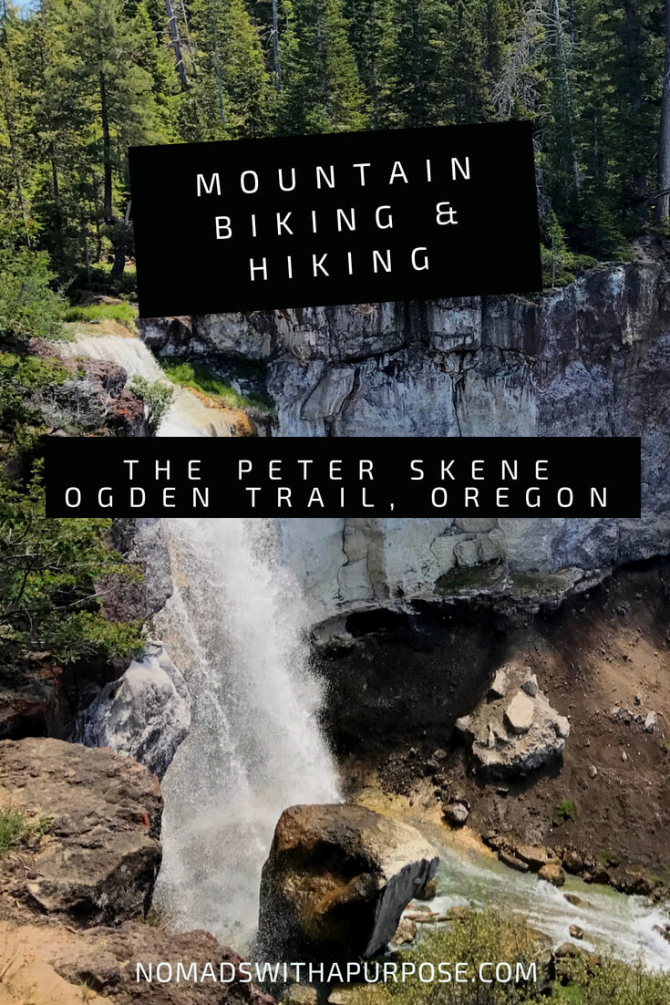 Mountain Biking and Hiking the Peter Scene Ogden Trail Oregon
