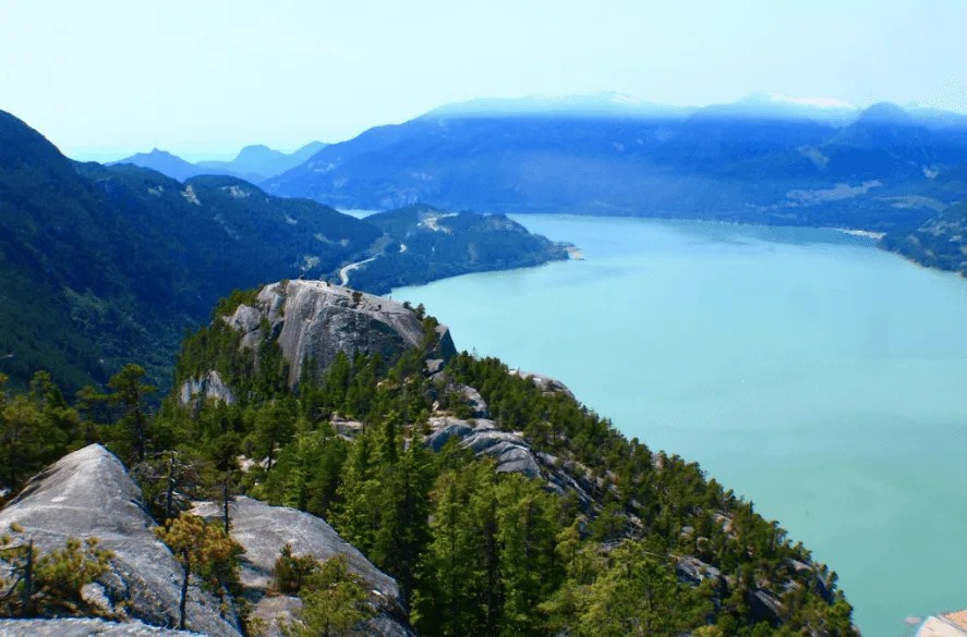 Hiking Stawamus Chief Three Peaks, Sea to Sky Road Trip