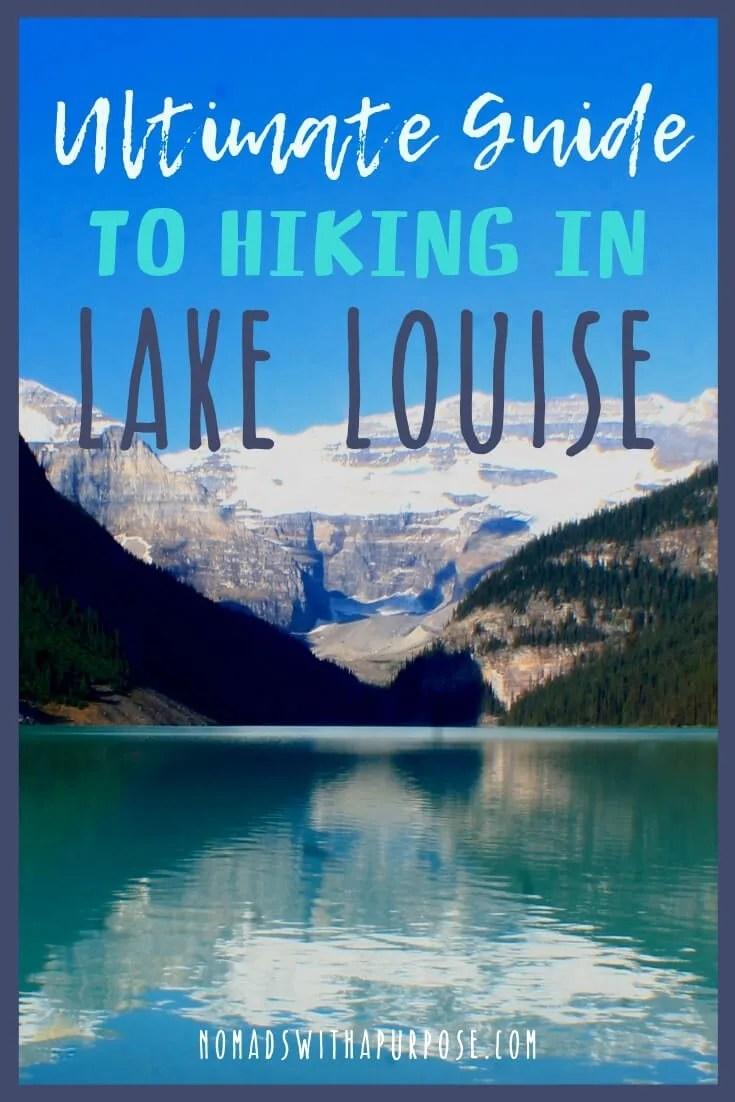 Hiking Lake Louise Banff National Park Lake Agnes Teahouse Plain of Six Glaciers Teahouse Devils Thumb