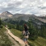 Helen Lake hike, Canada road trip