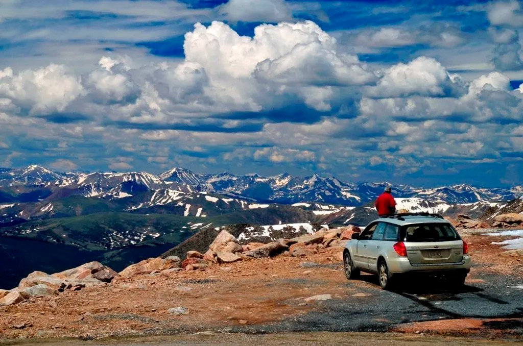 Mount Evans. Colorado Road Trip Itinerary