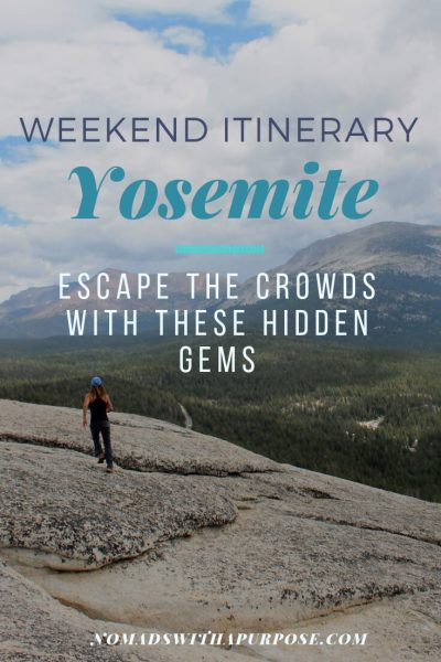 weekend itinerary Yosemite_ Escape the crowd with these hidden gems