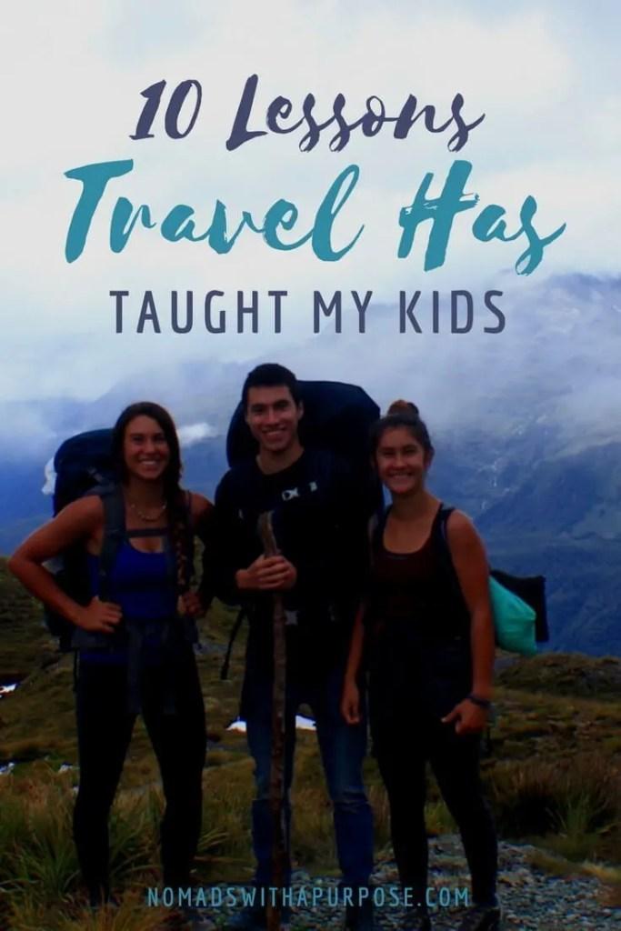 10 Lessons Travel Teaches Kids