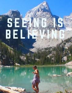 Seeing is Believing PIN