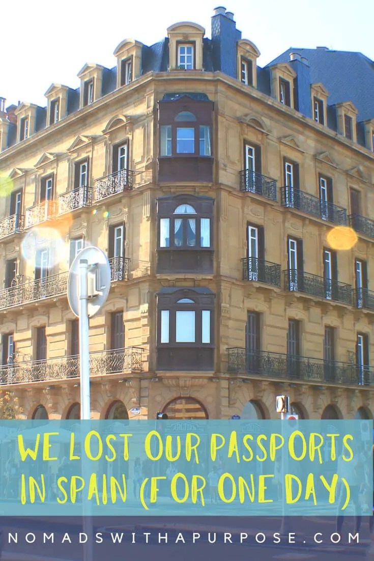 We Lost Our Passports (For One Day) PIN