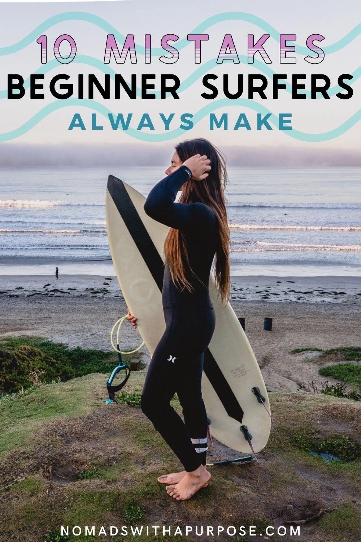 10 Mistakes Beginner Surfers Always Make