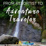 making the jump from resortist to adventure traveler