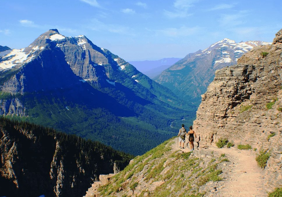 Highline trail, Best Hikes in Glacier National Park, Strenuous