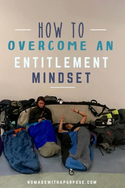 how to overcome an entitlement mindset