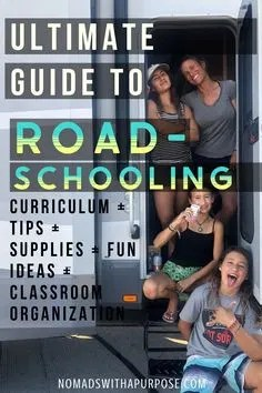 Ultimate Guide To Roadschooling
