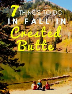 things to do in Crested Butte in October