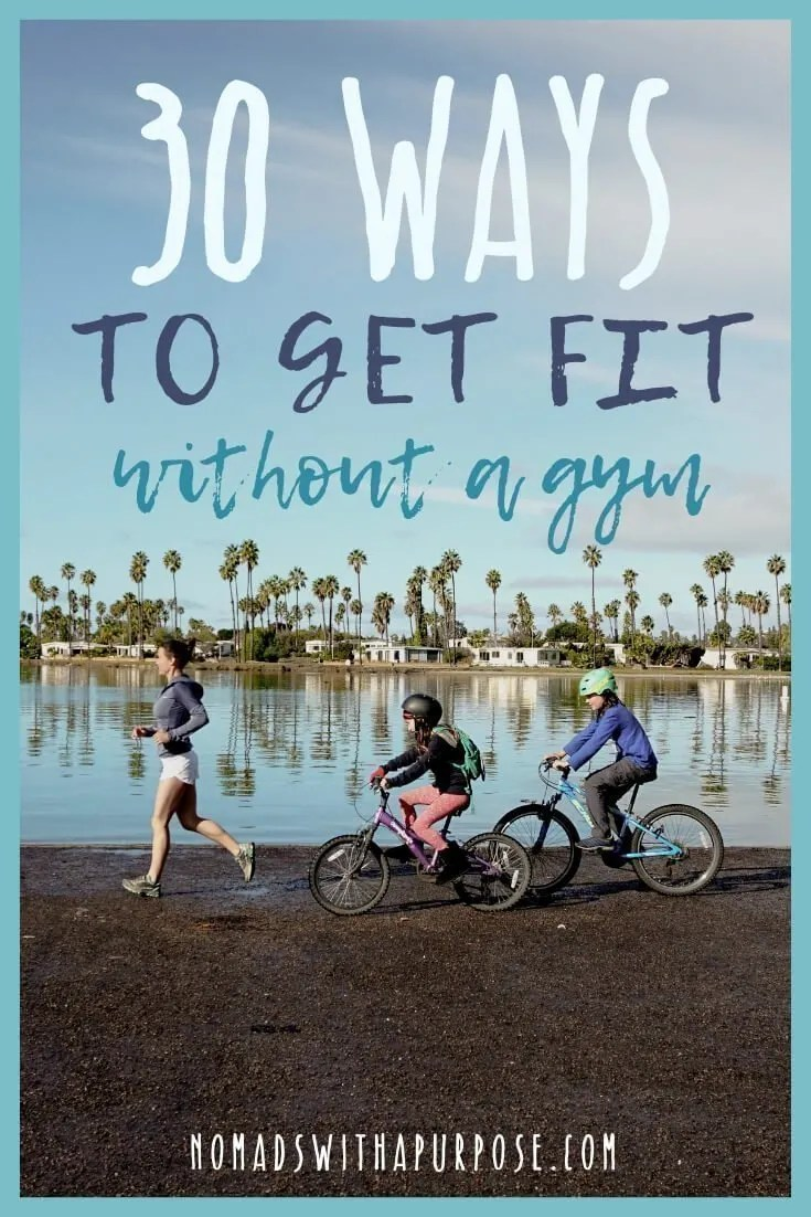 30 ways to get fit without a gym