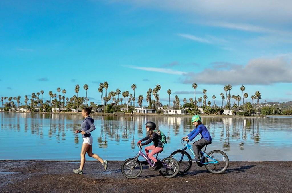 Running Mission Bay, San Diego