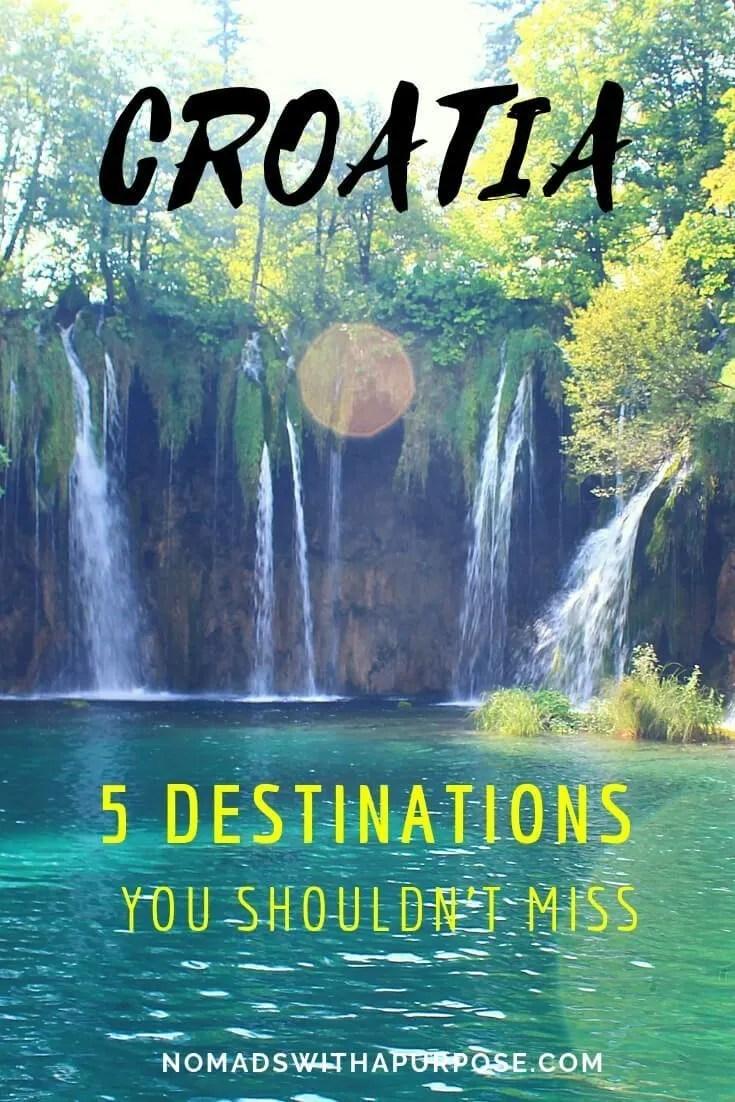 5 destinations in Croatia you shouldn't miss Pin