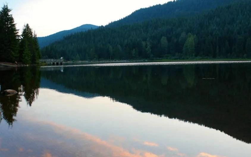 Oregon Road Trip Itinerary Trillium Lake