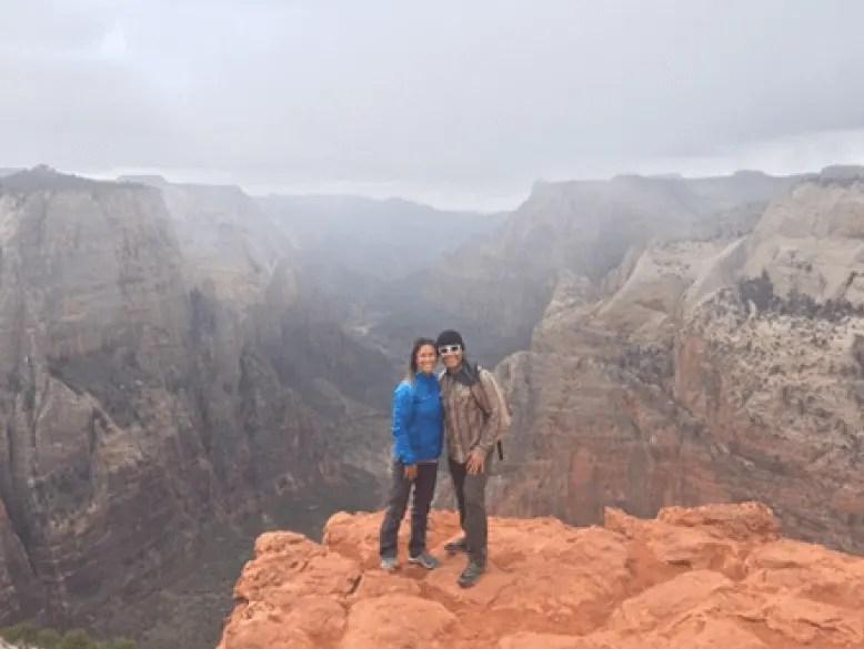 observation point, living adventurous life