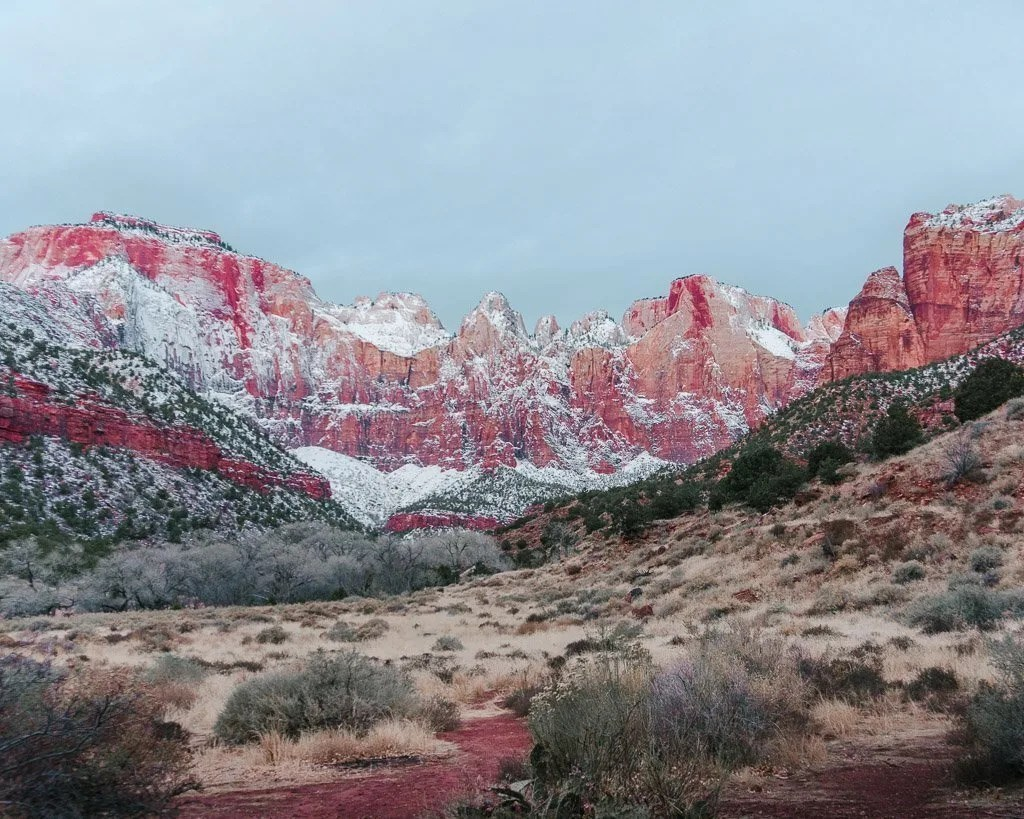 Towers of the Virgin, Zion National Park