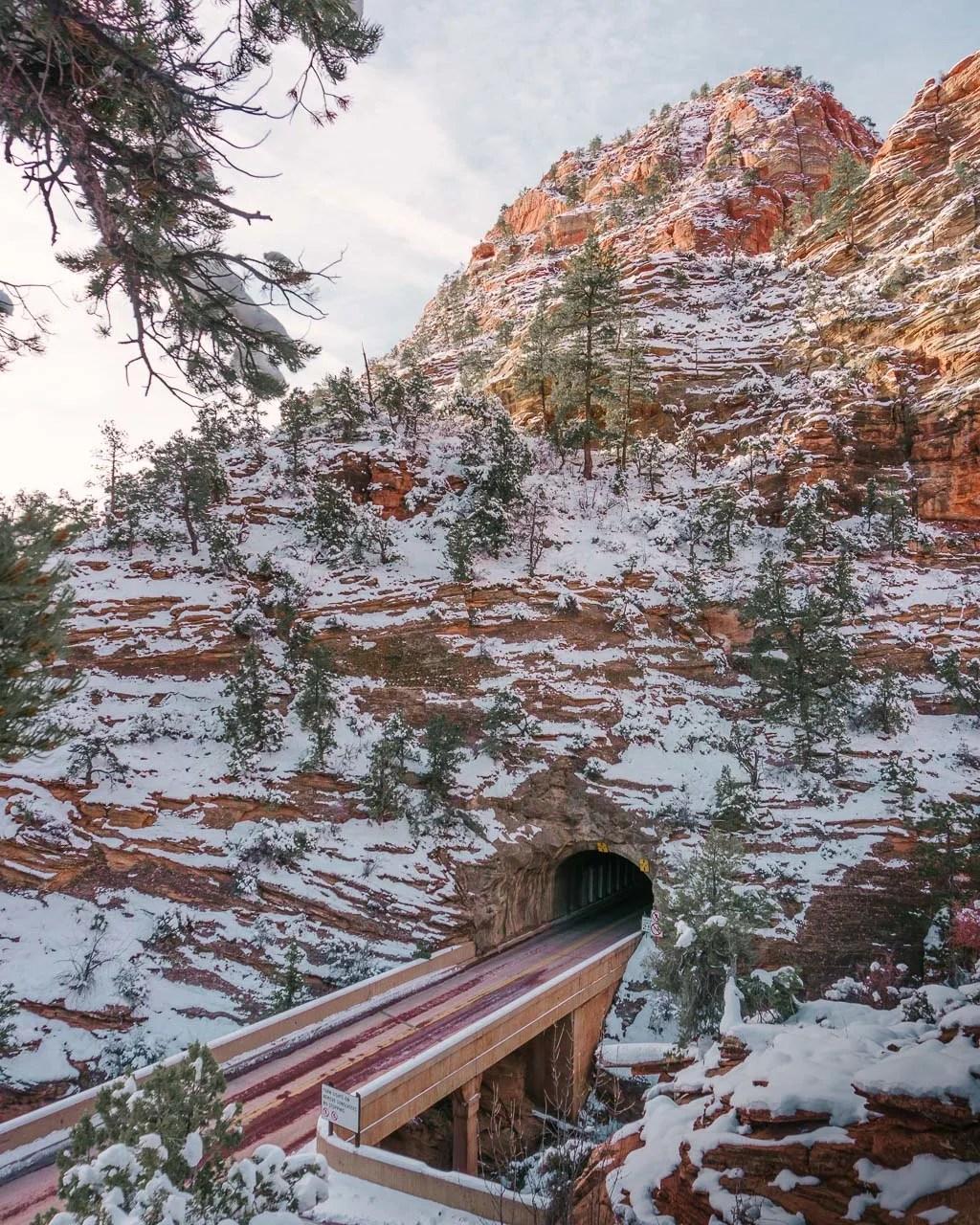 Zion Mt Carmel Tunnel