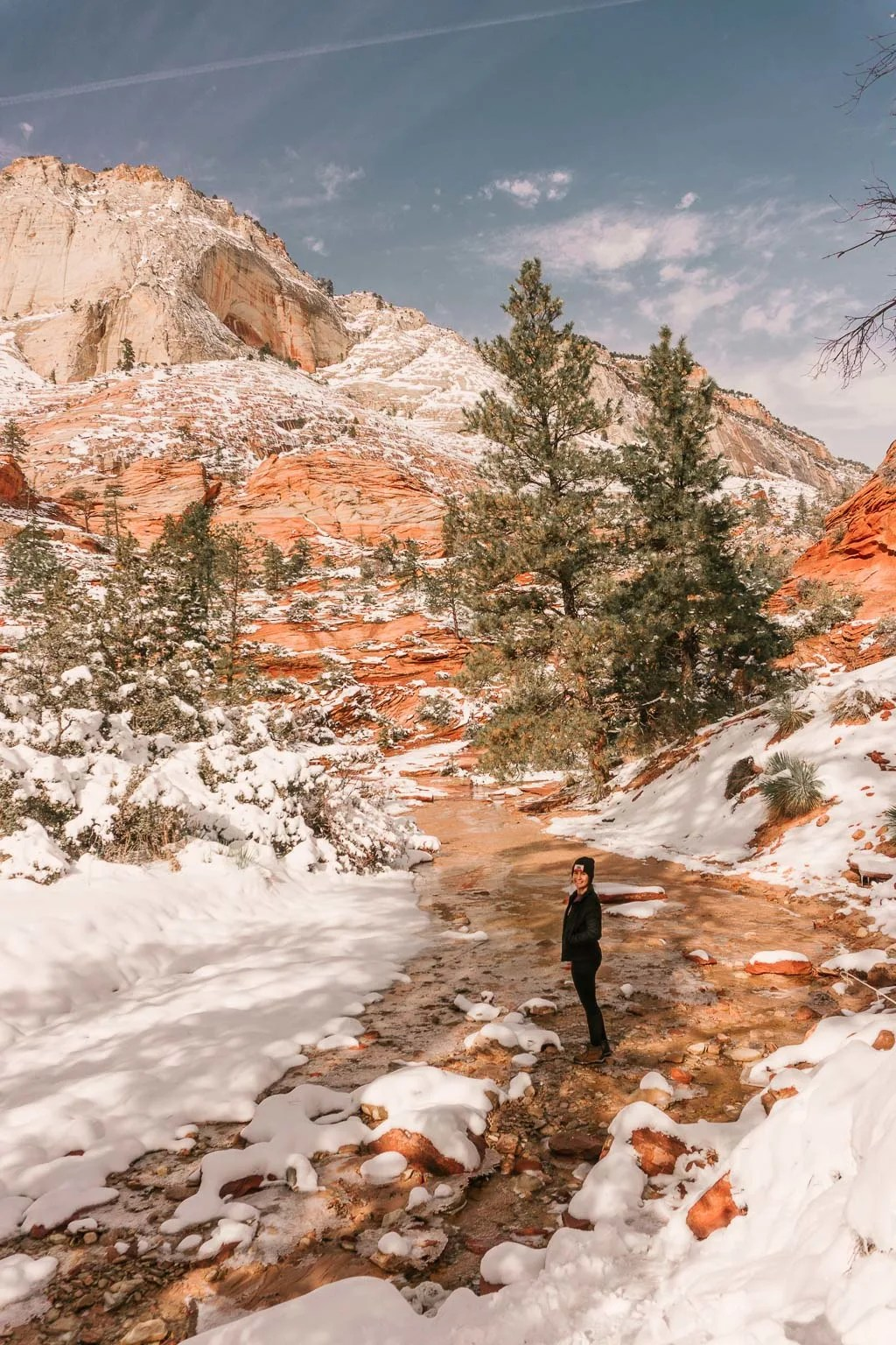 Secret canyons in Zion National Park