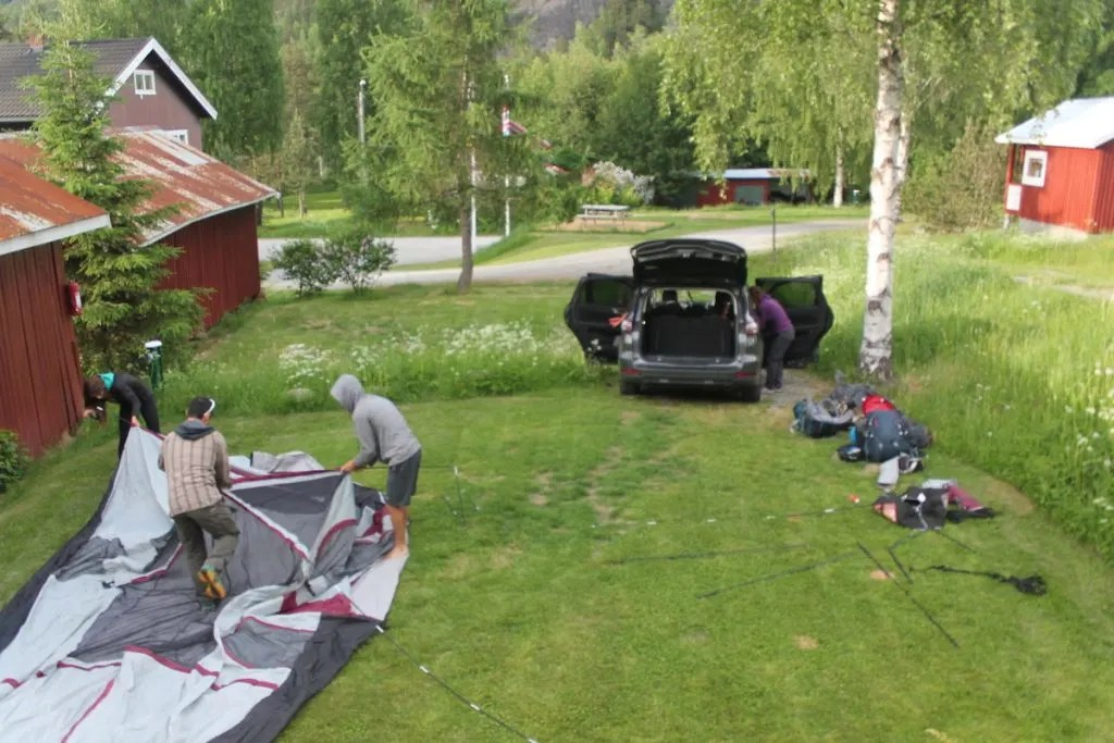 camp systems, Road Trip essential pack list