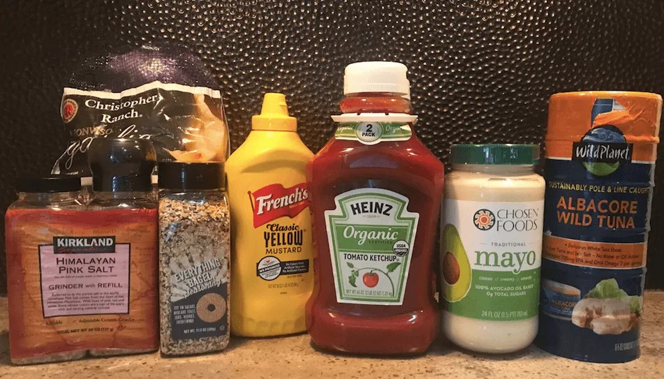 shopping healthy at Costco condiments and seasonings