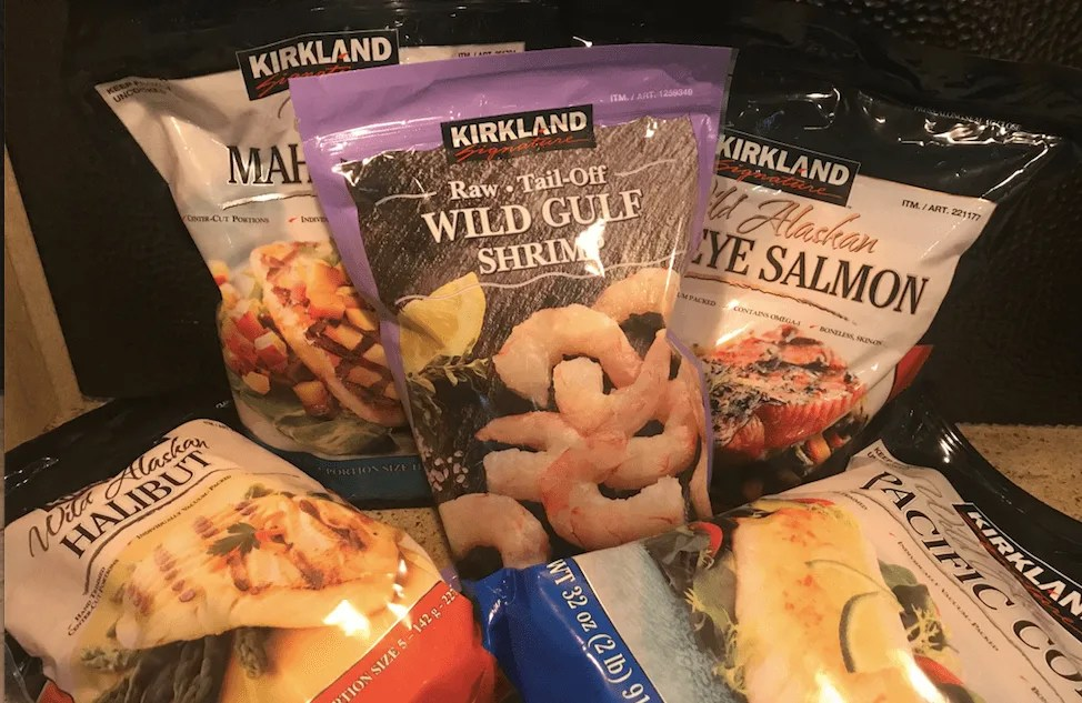 Shop healthy at Costco seafood