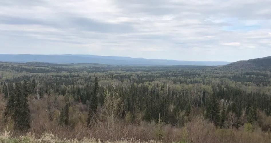 Alaska Highway views