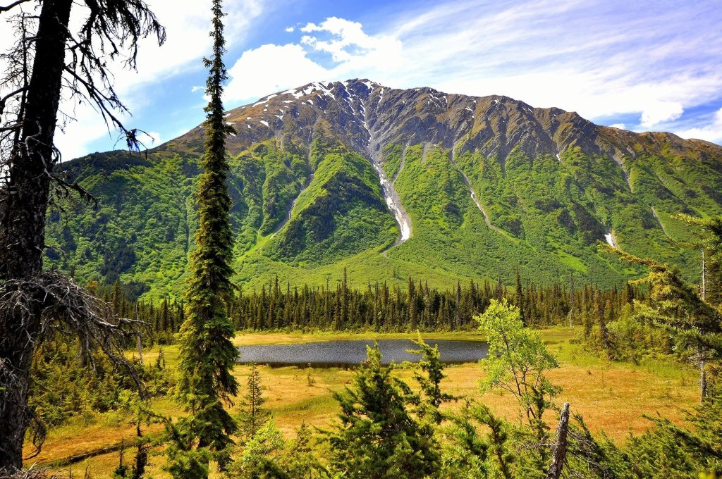 Johnson Pass trail, Alaska, Kenai Peninsula