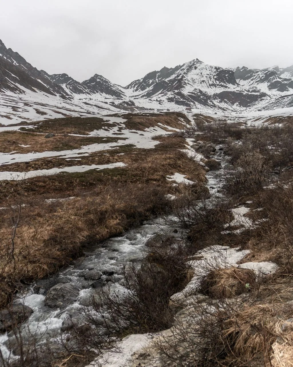 Exploring Hatcher Pass in Anchorage, Alaska