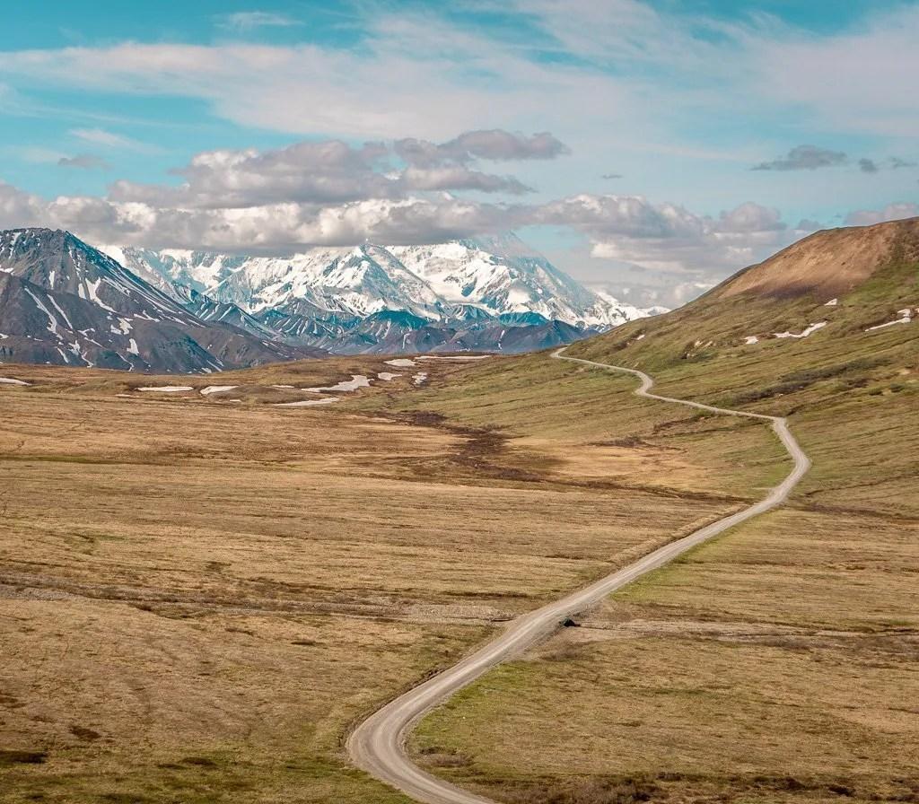 Parks Road, Denali National Park, Hiking and Camping, Alaska