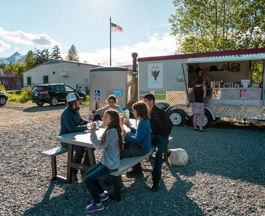 Haines food truck, Alaska